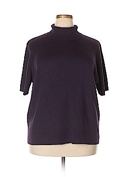 Dialogue Turtleneck Sweater Size 3X (Plus)