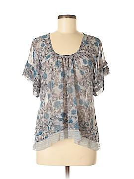 Susina Short Sleeve Blouse Size S