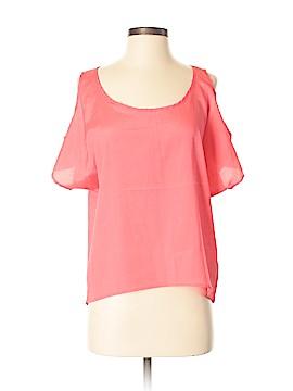 One Clothing Short Sleeve Blouse Size S