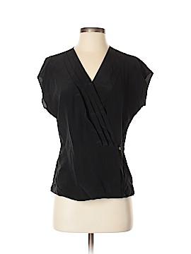 Brooks Brothers Short Sleeve Blouse Size 4