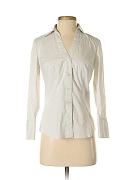 Ann Taylor Factory 3/4 Sleeve Button-Down Shirt Size 2