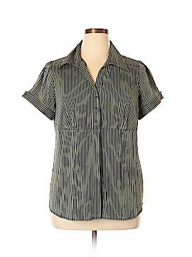 DressBarn Short Sleeve Button-Down Shirt Size 14 - 16