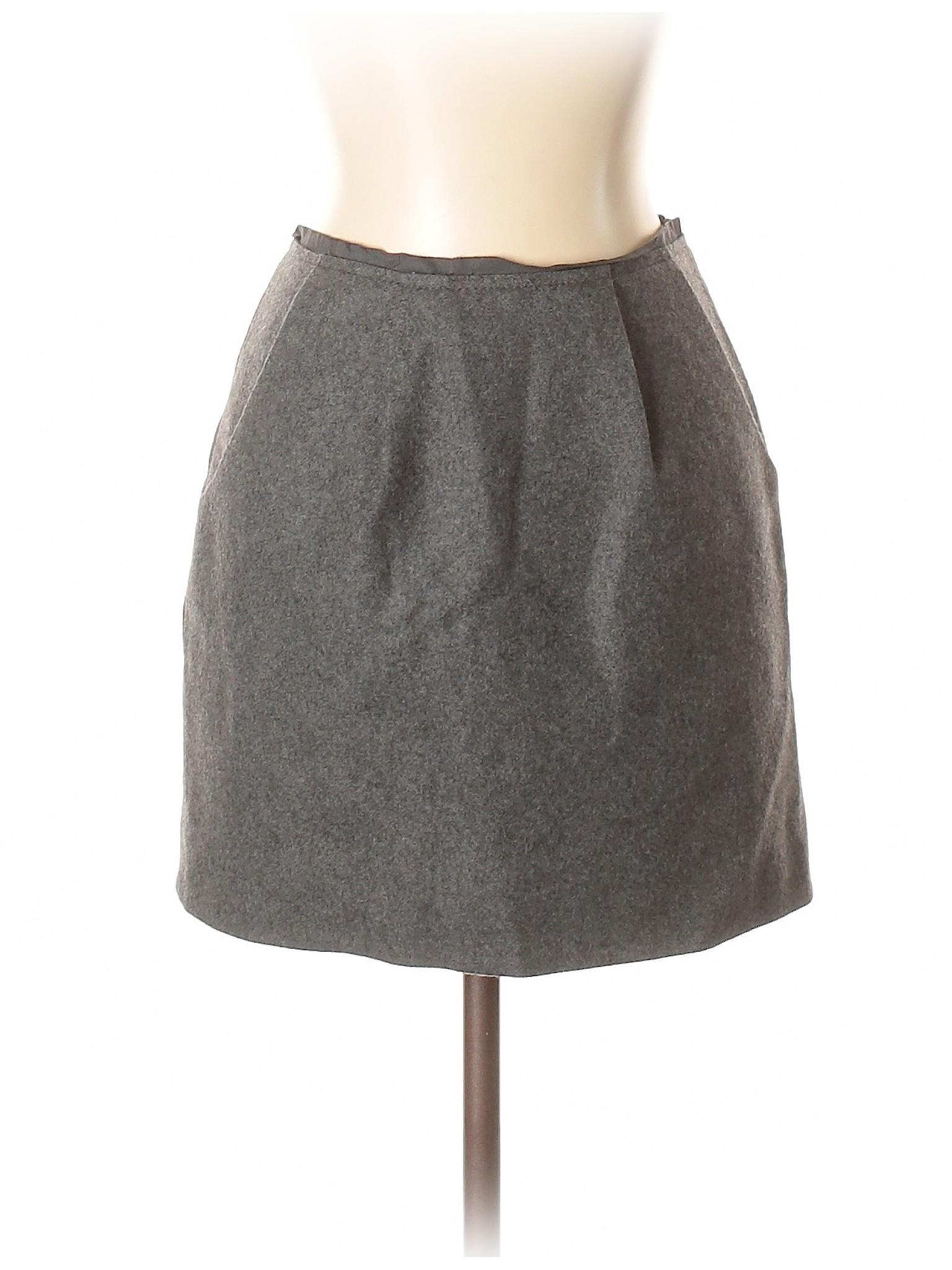 Wool J leisure Skirt Crew Boutique qUTSxAw