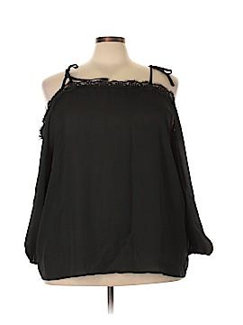 FASHION TO FIGURE 3/4 Sleeve Blouse Size 3X Plus (3) (Plus)
