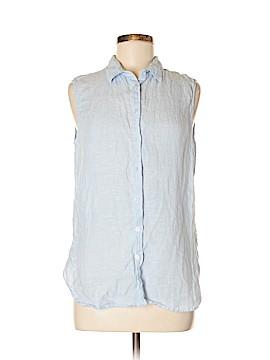 Uniqlo Sleeveless Button-Down Shirt Size M