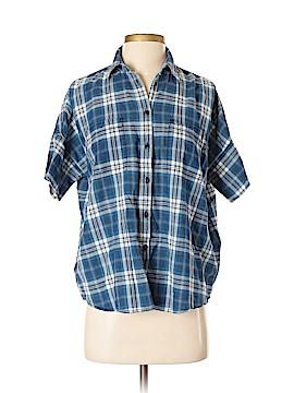 Madewell Short Sleeve Button-Down Shirt Size S