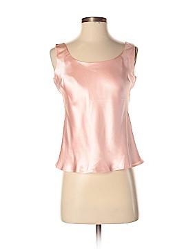 Kasper Sleeveless Silk Top Size 2 (Petite)