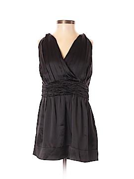 Alfani Sleeveless Silk Top Size P