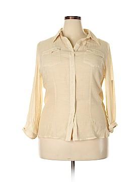 Adiva Long Sleeve Blouse Size XL