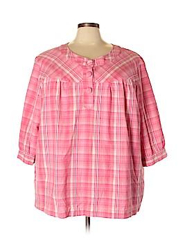 Liz & Me 3/4 Sleeve Blouse Size 4X (Plus)