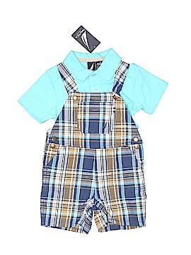 Nautica Jeans Company Overall Shorts Size 18 mo