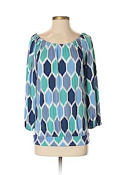 Tori Richard Long Sleeve Blouse Size S