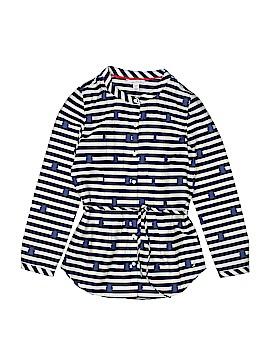 Nautica Long Sleeve Blouse Size 8