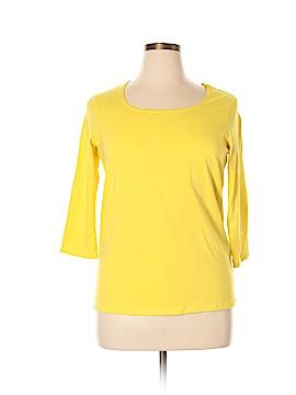 Jessica London 3/4 Sleeve T-Shirt Size 0X (Plus)