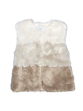 Mayoral Faux Fur Vest Size 9