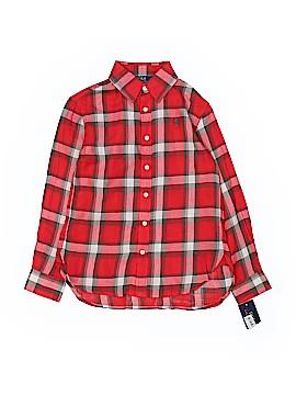 Ralph Lauren 3/4 Sleeve Button-Down Shirt Size 7