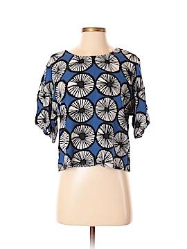 Marimekko Short Sleeve Blouse Size S