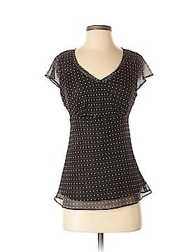 Rafaella Short Sleeve Blouse Size 4