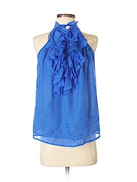 Aryn K. Sleeveless Silk Top Size S