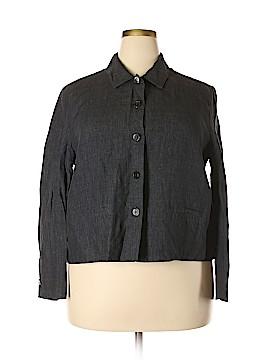 Garnet Hill Blazer Size 18 (Plus)