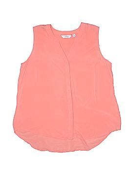 Great Northwest Indigo Short Sleeve Blouse Size XL