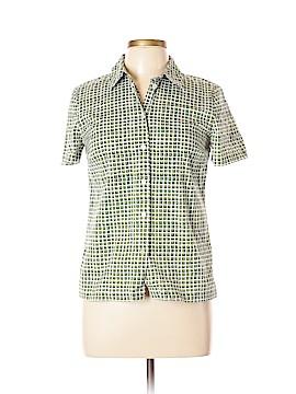 Tory Burch Short Sleeve Button-Down Shirt Size 8
