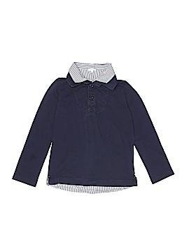 Jacadi Long Sleeve Button-Down Shirt Size 10