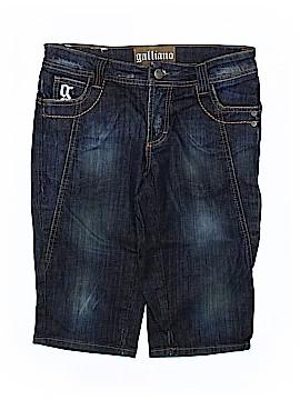 Galliano Denim Shorts Size 40 (IT)