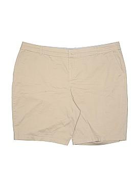 Croft & Barrow Khaki Shorts Size 18 (Plus)