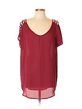 Fashion Classics Short Sleeve Blouse Size XXL