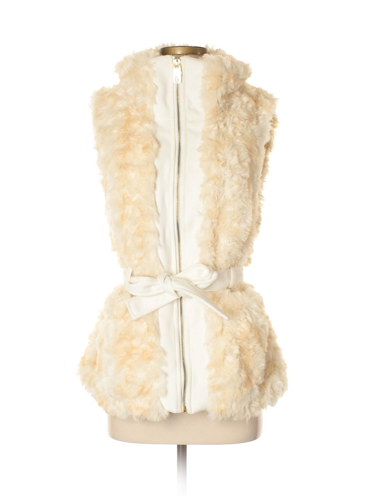 Leisure winter Sixty Miss Faux Vest Fur qUBqzx