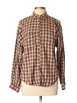 Angel Long Sleeve Button-Down Shirt Size XL
