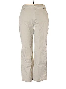 Columbia Khakis Size 20w (Plus)