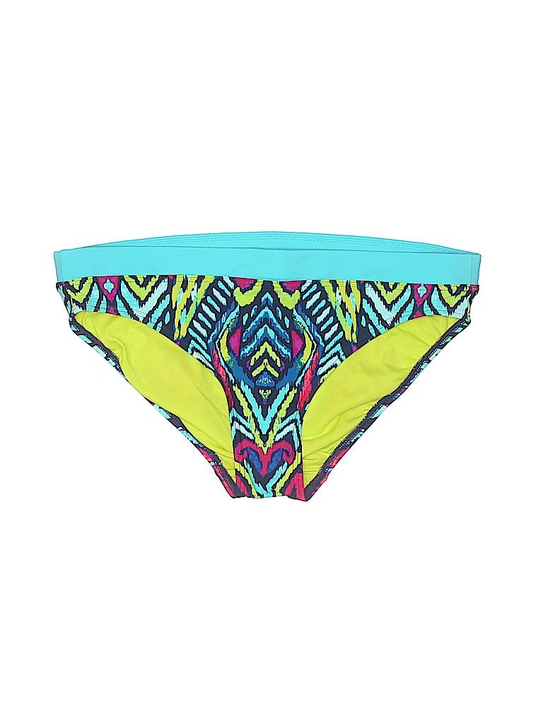 f09d69376f8 Title Nine Print Teal Swimsuit Bottoms Size M - 53% off | thredUP