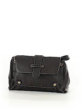 Isaac Mizrahi Leather Satchel One Size