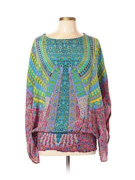 Tolani Short Sleeve Blouse Size M
