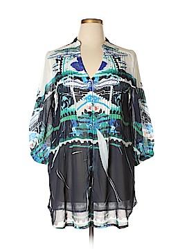 Papillon 3/4 Sleeve Blouse Size XL