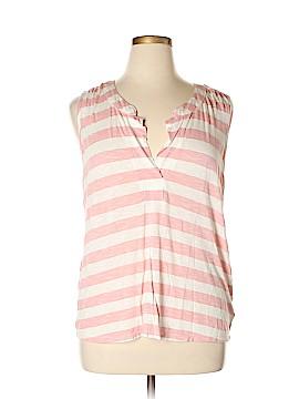 Nine West Vintage America Short Sleeve Top Size XL