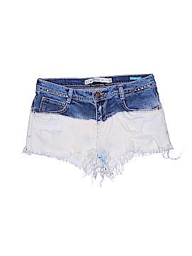 Zara TRF Denim Shorts Size 4