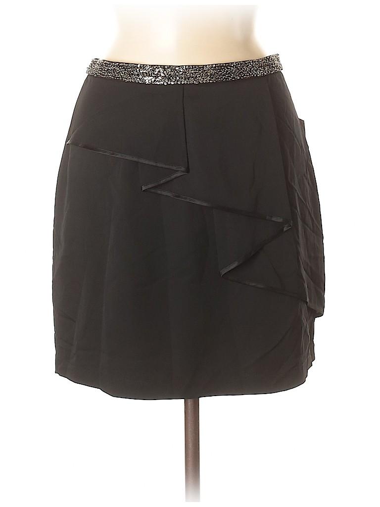 Robert Rodriguez Women Silk Skirt Size 8