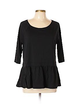 LOGO 3/4 Sleeve Top Size L