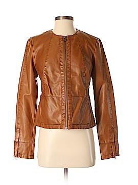 Ann Taylor LOFT Outlet Faux Leather Jacket Size XS
