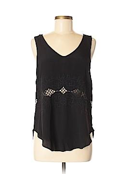Star Sleeveless Silk Top Size M