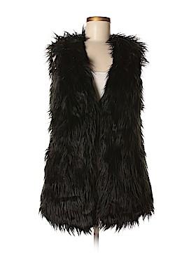 Fashion Union Faux Fur Vest Size M