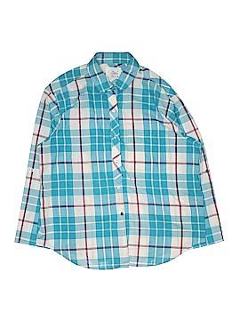 Alicia 3/4 Sleeve Button-Down Shirt Size 18 (Plus)