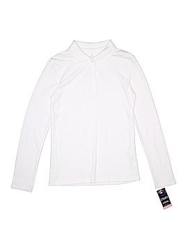 Chaps Long Sleeve Polo Size 12 - 14