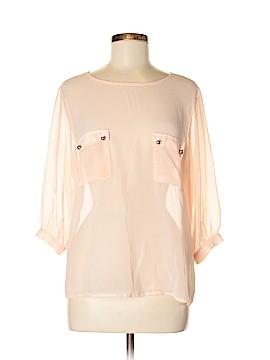 Mono B 3/4 Sleeve Blouse Size M
