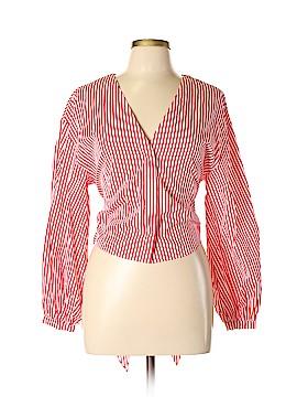 H&M Long Sleeve Button-Down Shirt Size 12