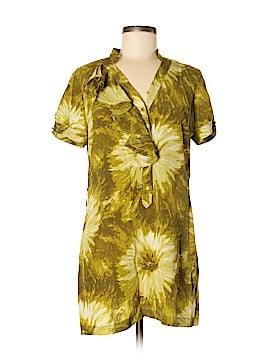 Tabitha Short Sleeve Silk Top Size 8