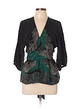 Maple 3/4 Sleeve Silk Top Size 8